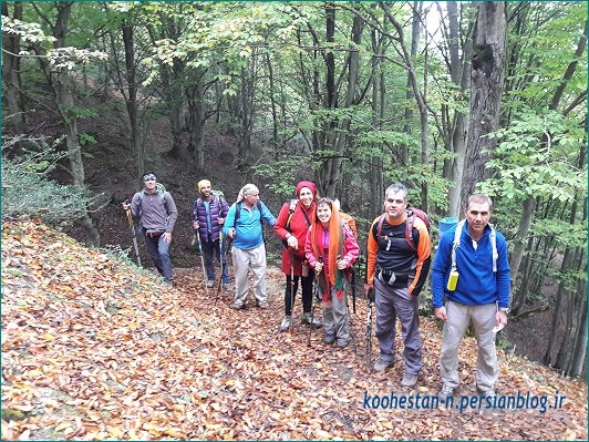 مسیر چشمه پرآو - ارفع کوه