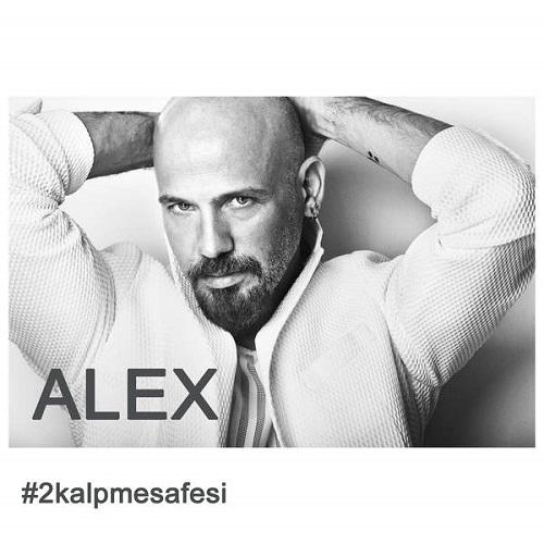 دانلود آهنگ ترکی جدید Alex بنام 2Kalpmesafesi