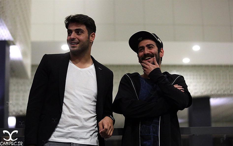 نیما شعبان نژاد و علی ضیاء در اکران خصوصی فیلم متولد ٦٥