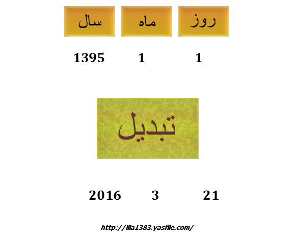 سورس تبدیل تاریخ گیم میکر