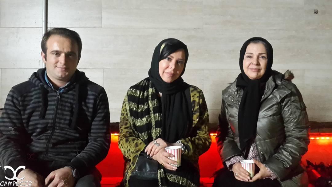 فلور نظری و افسر اسدی در فیلم ملی و راه های نرفته اش
