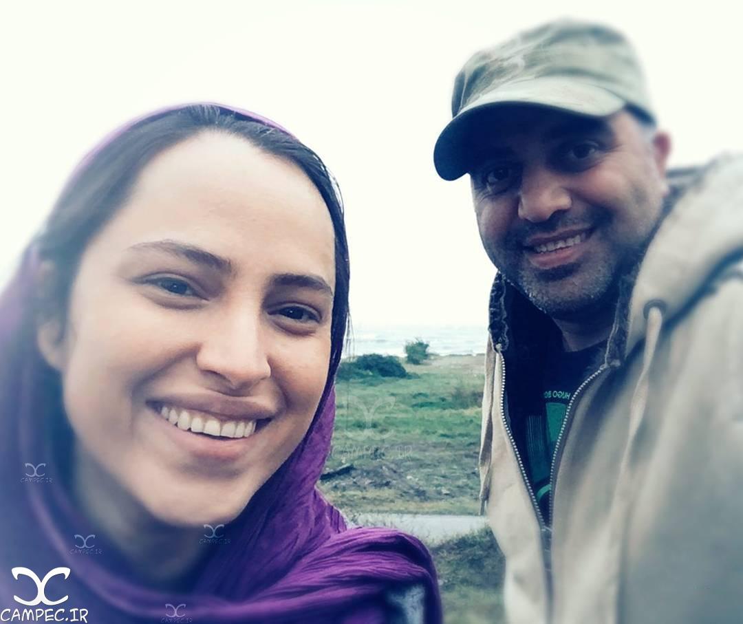 شرین اسماعیلی با شهرام شاه حسینی در سریال هشت و نیم دقیقه