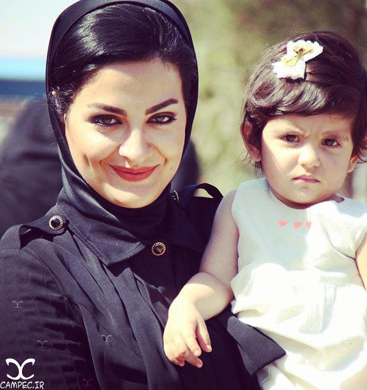 لیلا ایرانی با دخترش دیانا