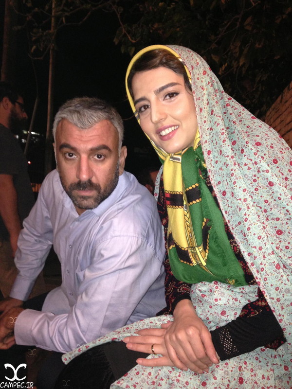 سارا محمدی و علی انصاریان