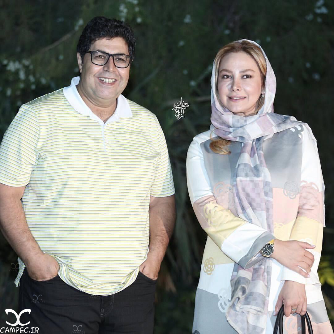 فرهاد اصلانی و آنا نعمتی