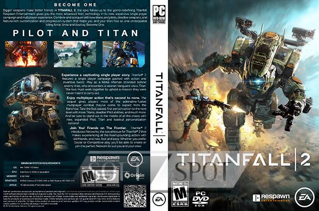 کاور بازی Titanfall 2