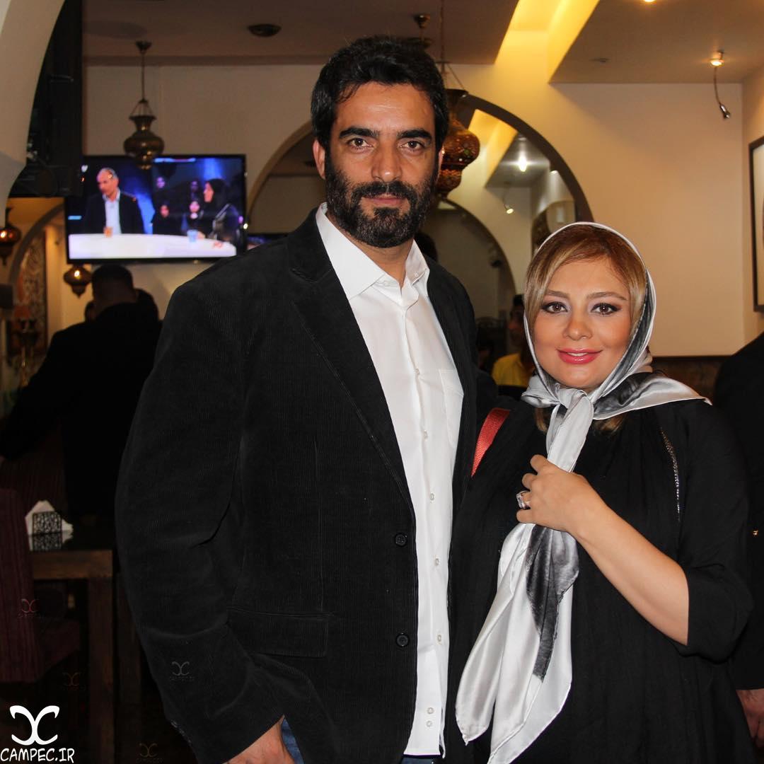 یکتا ناصر و همسرش در دورهمی خصوصی سریال عاشقانه