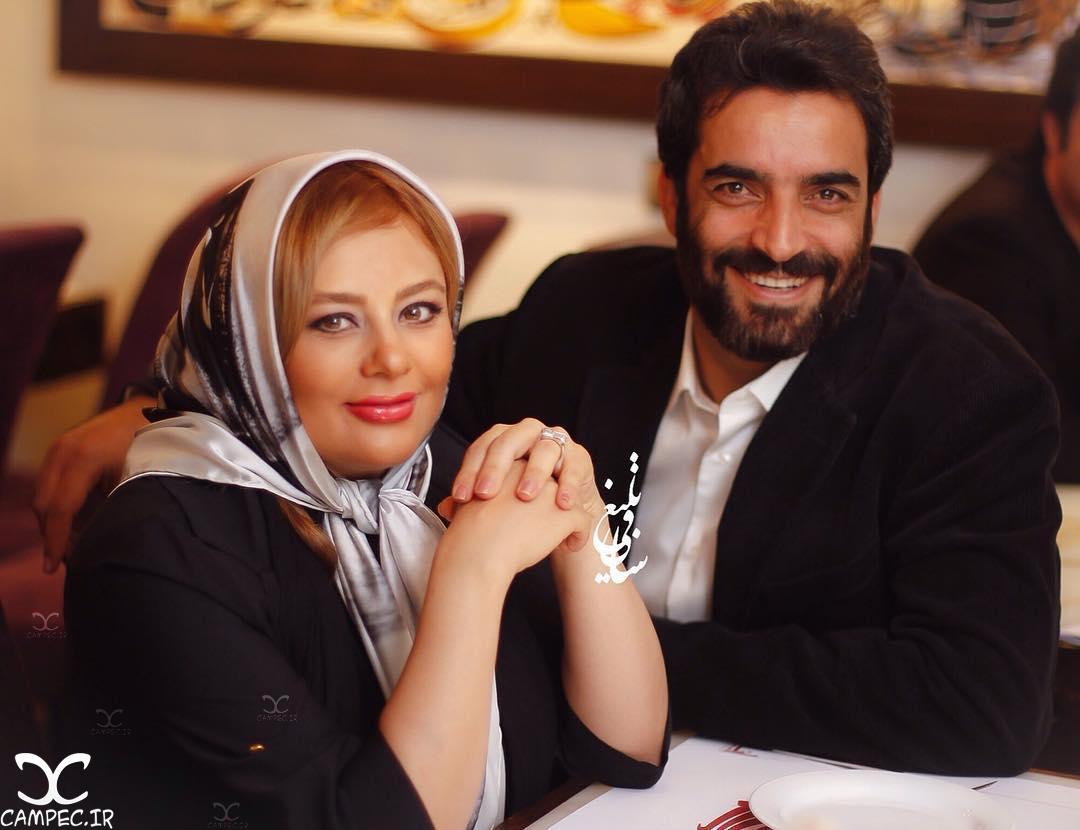 یکتا ناصر و منوچهر هادی در دورهمی خصوصی سریال عاشقانه