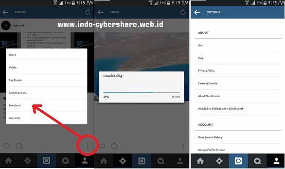 دانلود اینستاگرام پلاس برای اندروید - Instagram plus 8.5.1