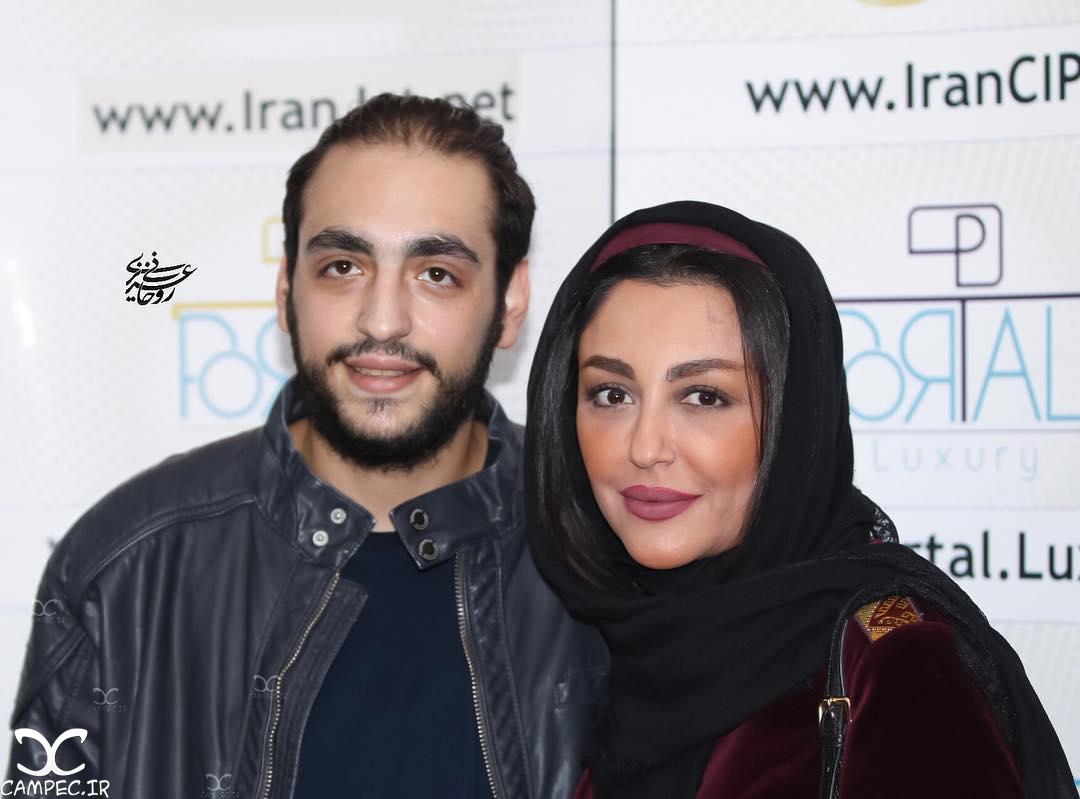 شقایق فراهانی و پسرش در اکران خصوصی فیلم جاودانگی