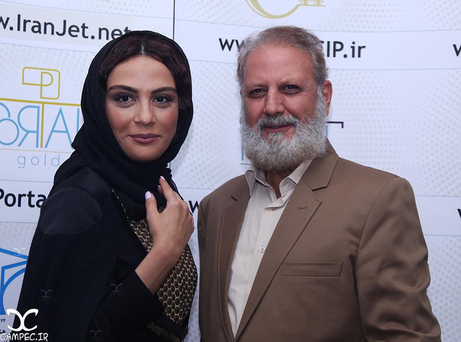 مارال و جلیل فرجاد در مراسم اکران فیلم جاودانگی