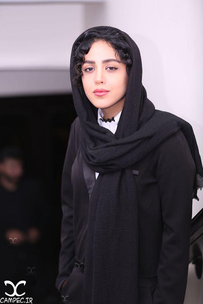 هنگامه حمیدزاده در مراسم اکران فیلم جاودانگی