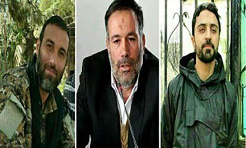 شهادت سه ایرانی مدافع حرم