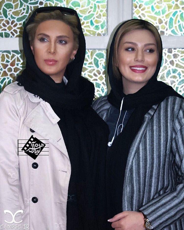 سحر قریشی و لیلا بلوکات در اکران فیلم آس و پاس