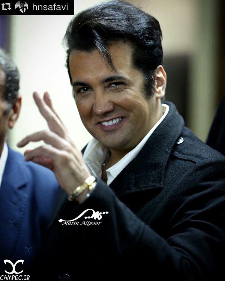 حسام نواب صفوی در اکران فیلم آس و پاس