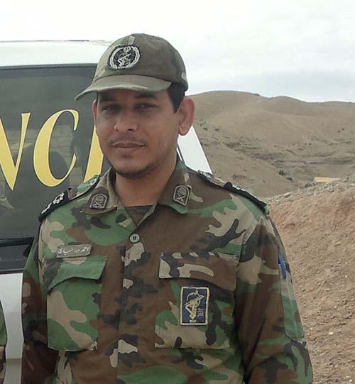 شهید احمد حیاری