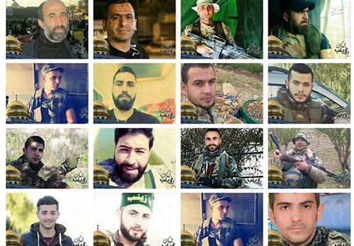 33 مدافع حرم لبنانی