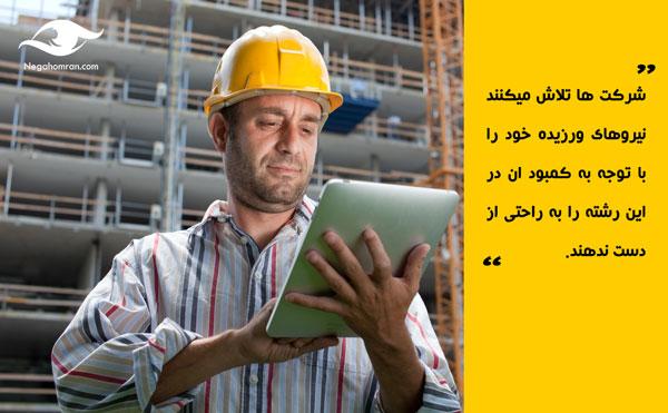 میزان حقوق کارشناس کنترل پروژه
