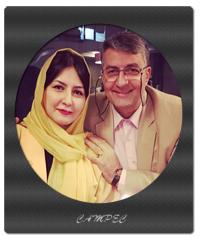 عکسها و بیوگرافی حمید ماهی صفت با همسر و فرزندان