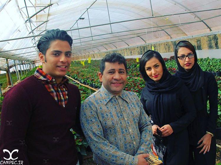 سروش جمشیدی بازیگر سریال مرز خوشبختی