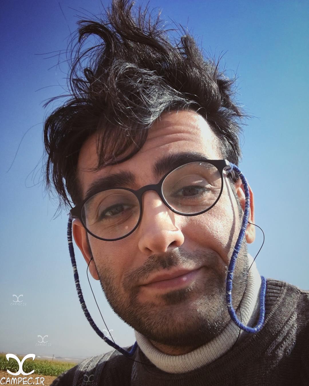 امیر حسین آرمان با گریم سریال مرز خوشبختی