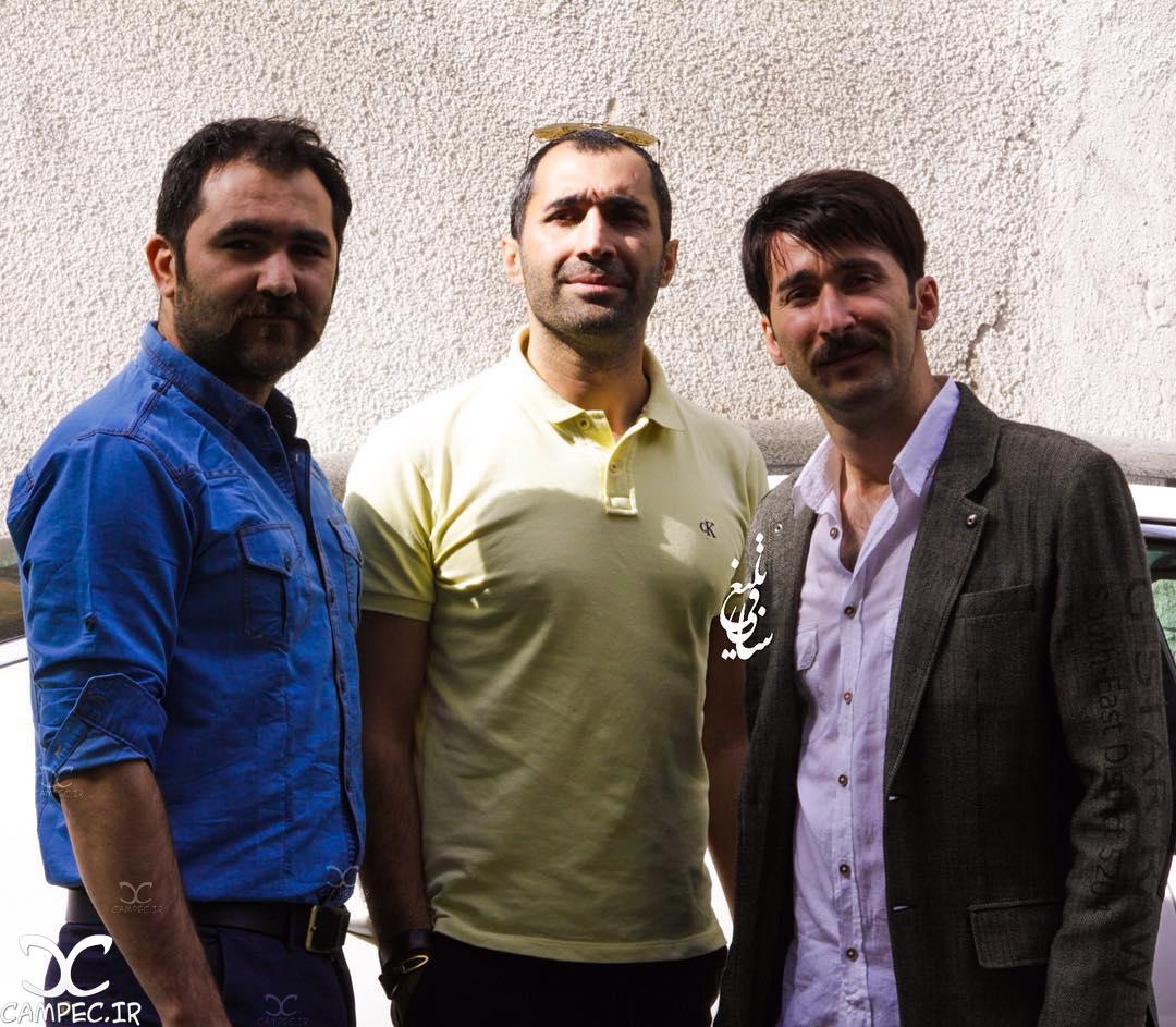 هادی کاظمی با برادرانش