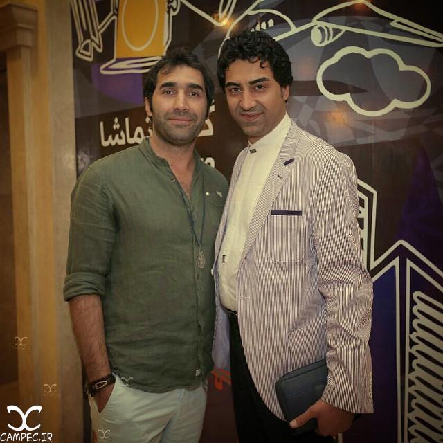 هادی کاظمی و محمدرضا علیمردانی