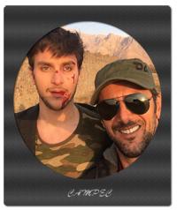 عکسهای امین حیایی با پسرش دارا و بیوگرافی