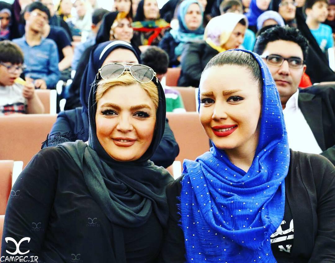 شیما شهامتی و شهرزاد عبدالمجید