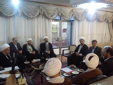 جلسه قرارگاه فرهنگی شهرستان