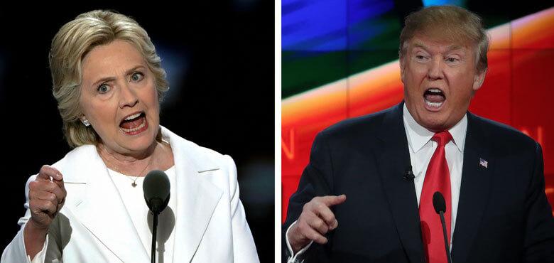 نتایج نهایی انتخابات ریاست جمهوری آمریکا 2016 بین هیلاری کلینتون و دونالد ترامپ