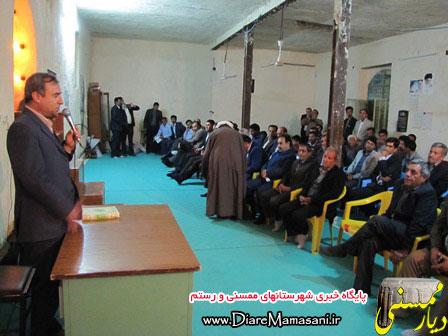 بازدید مدیرعامل شرکت گاز استان فارس از شهرستان رستم