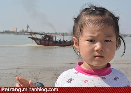 فردوس دختر بچه چینی در سرزمین جبهه ها