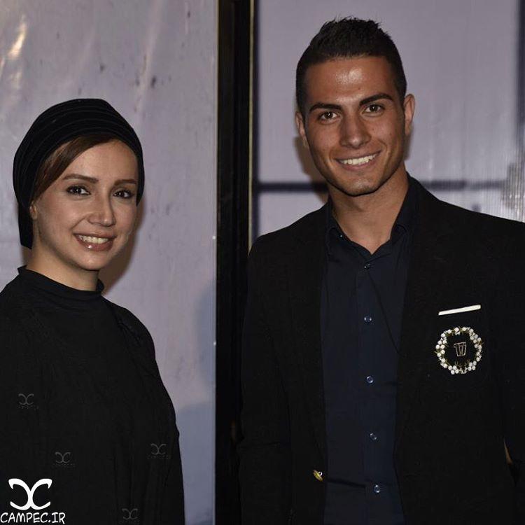 شبنم قلی خانی با کریستین رونالدو ایرانی