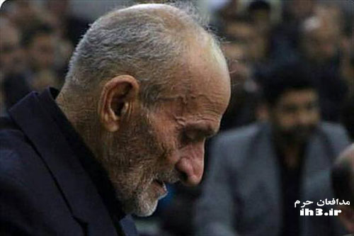 پدر شهید مدافع حرم محمد اتابه