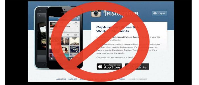آموزش تصویری غیر فعال سازی موقت اکانت اینستاگرام