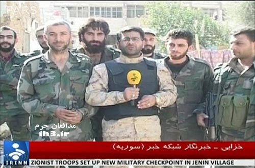 محسن خزایی خبرنگار خبرگزاری صدا و سیما