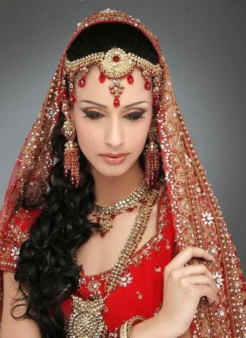 لباس عروس هندی سری 1