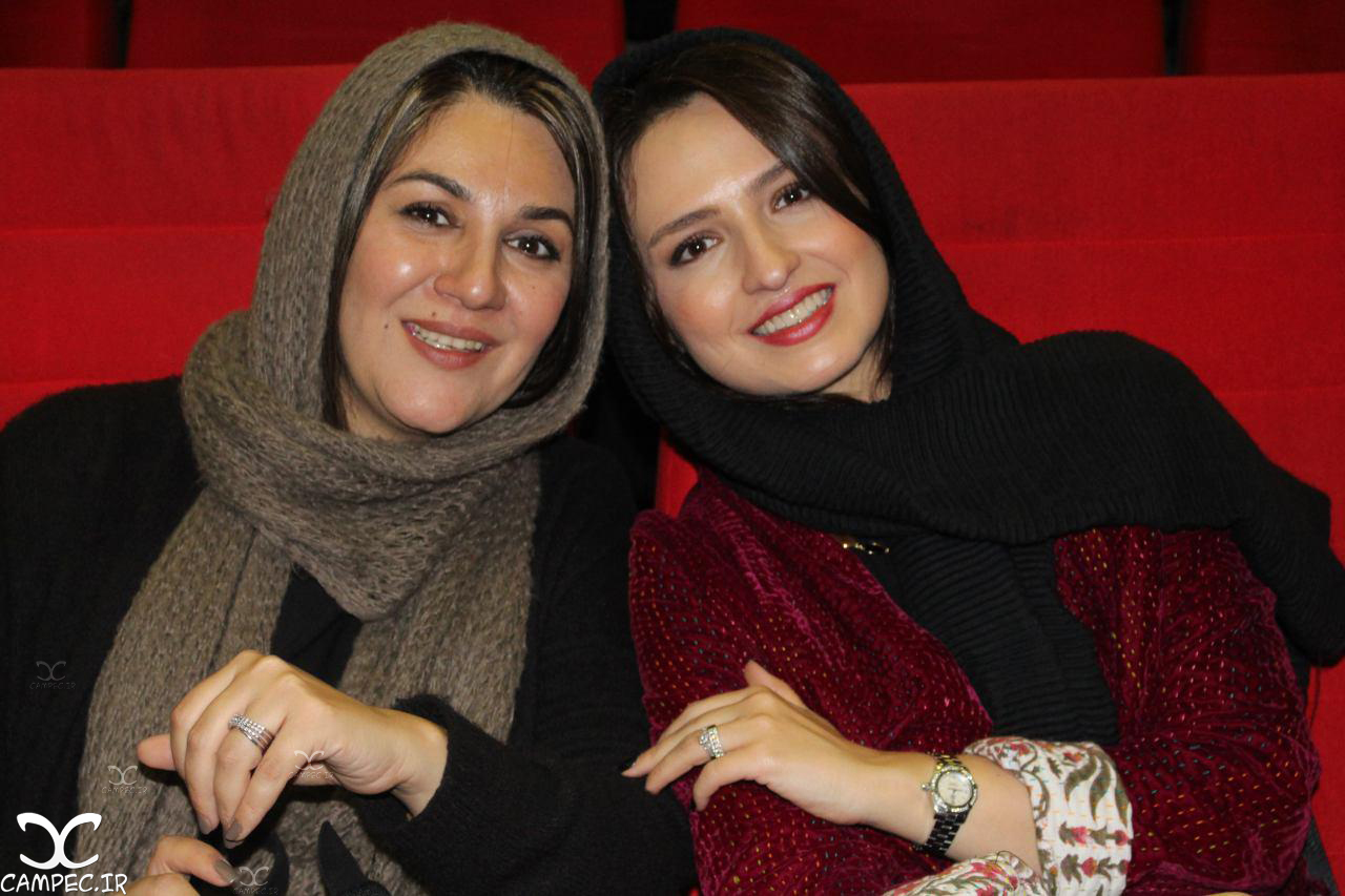 گلاره عباسی و ستاره اسکندری در اکران خصوصی فیلم نفس