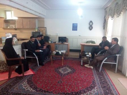 جلسه هیئت امنا امامزاده سید محمد(ع) درخصوص اربعین حسینی