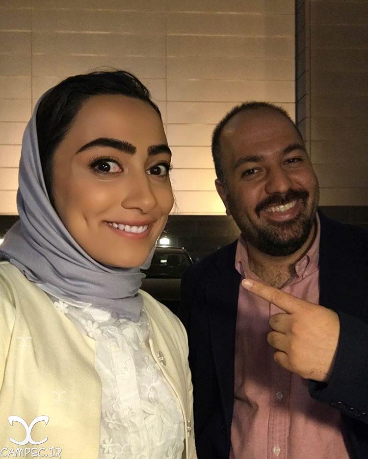 یاسمن معاوی و علی اوجی در سریال پیکسل