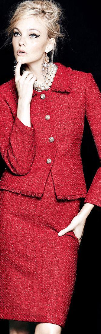 کت دامن خیلی شیک زنانه با پارچه طرح جدید قرمز