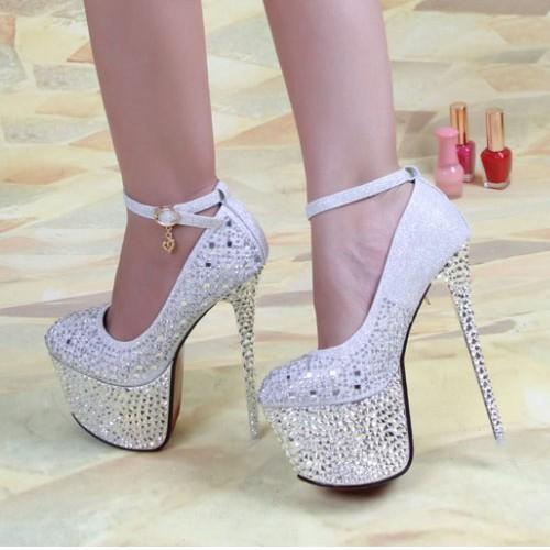 مدل کفش پاشنه بلند شیک عروس سری 2