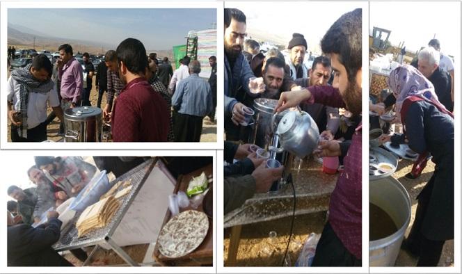 تصاویری از حضور زوار حسینی