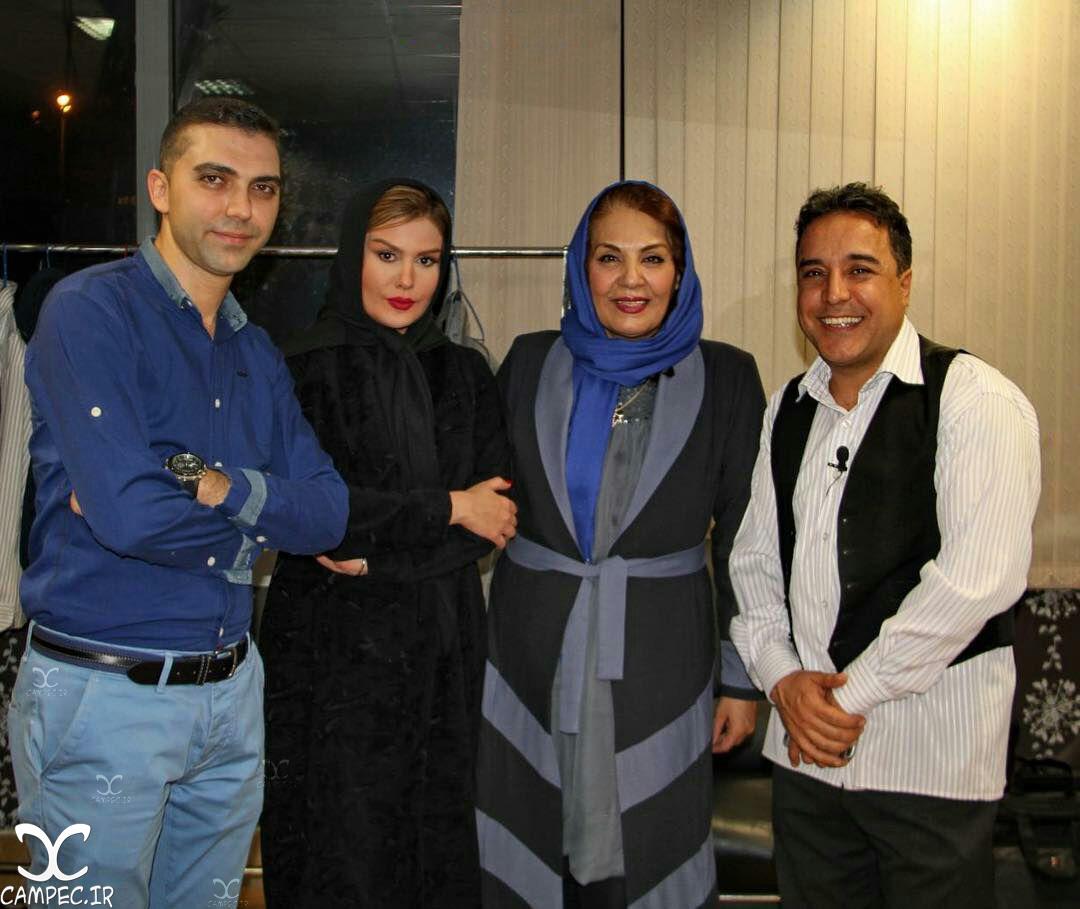 بهزاد محمدی با زهره حمیدی و رز رضوی