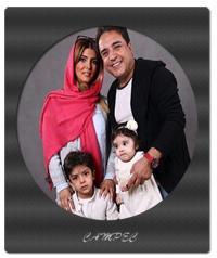 عکسها و بیوگرافی بهزاد محمدی با همسرش