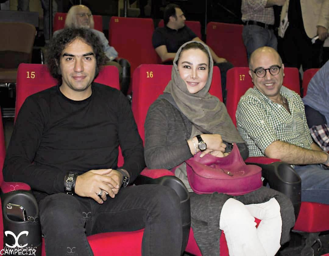 شهرام شاه حسینی با آنا نعمتی و رضا یزدانی