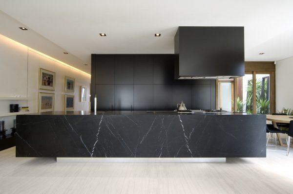 سنگ مرمر سفید در آشپزخانه8