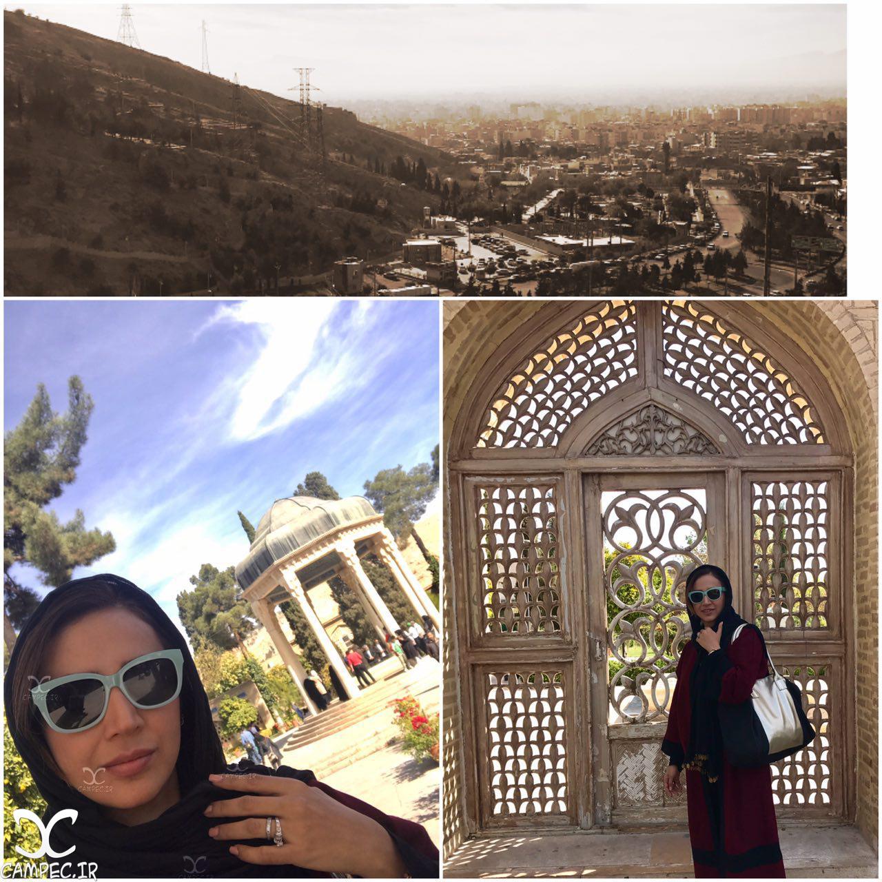 عکس شبنم قلی خانی در شیراز