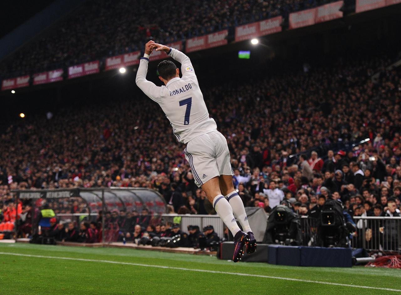 <h3>رونالدو بهترین گلزن تاریخ دربی مادرید شد</h3>